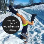 Nancy Chardin posture neige photo